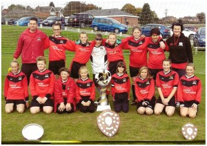 Burntwood Phoenix Under 13's Girls